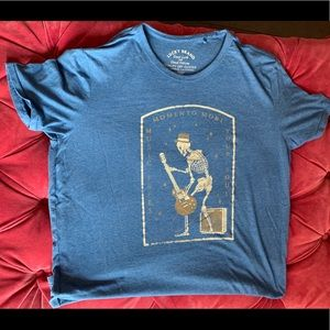 Lucky brand Men's L Blue T-shirt.